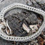 Cadena de plata de espiga – Parte 2