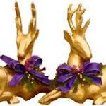 Bricolaje en oro para regalar en navidad