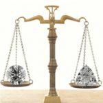 Acerca de los diamantes y sus pesos