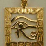 Joyas de plata con íconos egipcios, hechas a mano