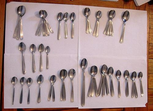 Formas de limpiar sus cubiertos de plata