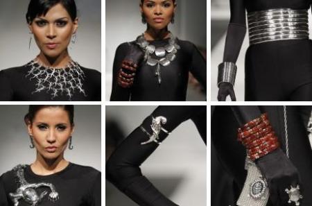 Ilaria Perú desfila sus joyas en el LIF Week 2012