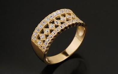Joyas de oro enchapado oro y diamantes for Banos electroliticos para joyeria