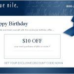 Celebra tu cumpleaños con Blue Nile