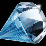 Diamantes color champán, azul o amarillo para los anillos de compromiso