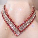 Diferencias entre collares y colgantes de diamantes